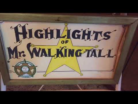 Walking Tall with Sheriff Buford Hayse Pusser Adamsville Tennessee