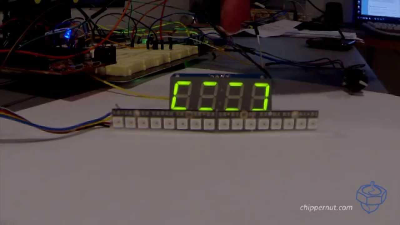 Arduino Shift Light V2 Tachometer from Chippernut - YouTube