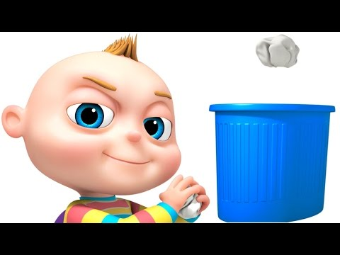 Thumbnail: TooToo Boy Dustbin Episode | Funny Cartoon Animation For Kids | Children's Comedy Show