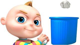 TooToo Chico cubo de Basura Episodio | Caricatura Divertida Animación Para los Niños | los Niños del Show de Comedia