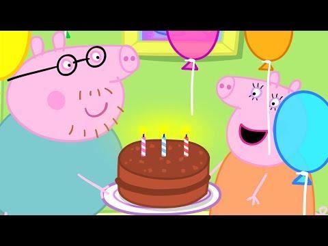 Peppa Pig Nederlands | 3 Afleveringen - Verjaardagen
