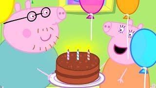Peppa Pig Nederlands Compilatie Nieuwe Afleveringen    Verjaardagen   Tekenfilm   Peppa de Big