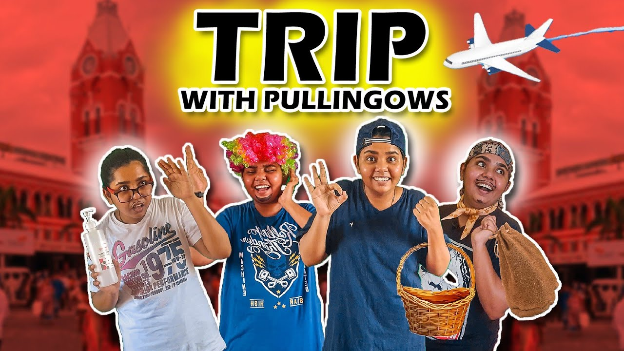 Going On A Trip With Friends | Trip With Pullingos | Tamil Comedy Video 2021 | Simply Sruthi