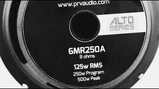 PRV Audio Brazil / 6MR250A - 6