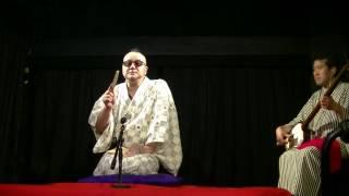 2016/06/04 新宿シアターPoo 三味線・東家一太郎.