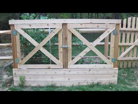 How to Build a Deer Proof Raised Garden Bed YouTube