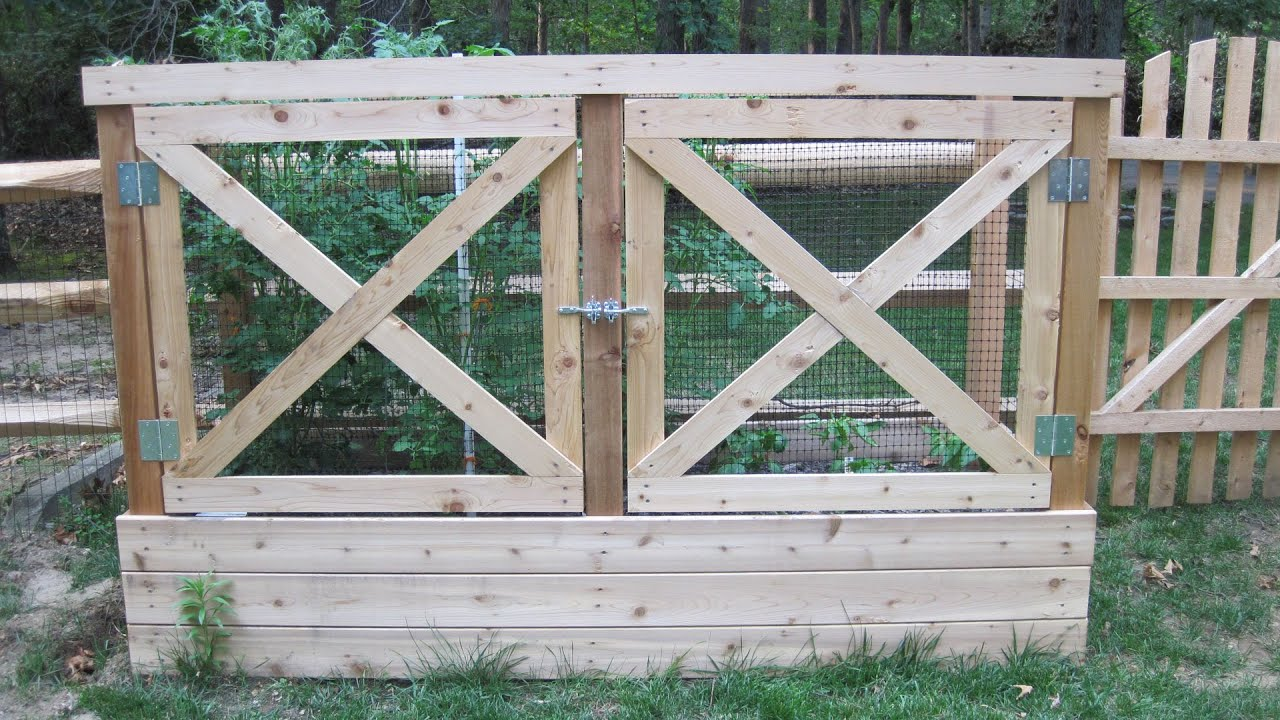 how to build a deer proof raised garden bed