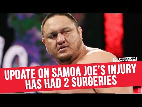 Update On Samoa Joe's Injury, Has Already Had 2 Surgeries