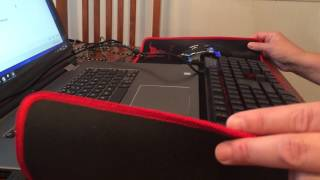 Gaming Mouse Pad that's HUGE! Plenty of space for keyboard and mouse!