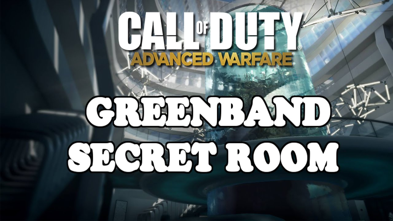 COD AW Glitches GreenBand Secret Room For EXO SURVIVAL