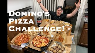 ORDERING THE ENTIRE DOMINO'S MENU! 15,000 CALORIE CHALLENGE!