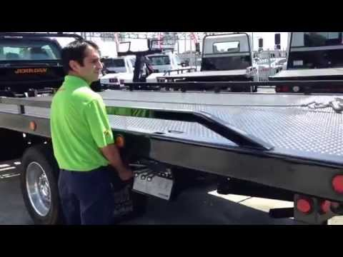 Ford F550 Rollback Tow Truck with Jerr-Dan