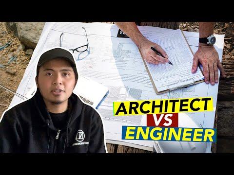 Architect vs Engineer