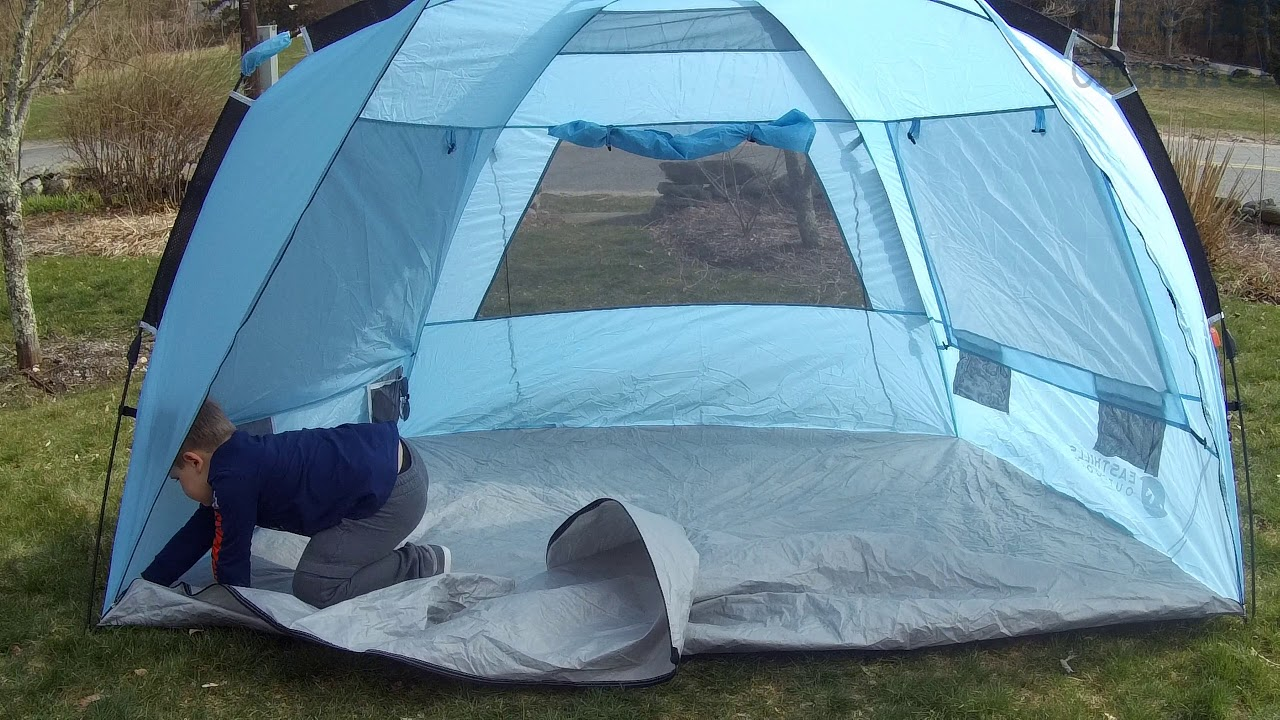 Pop Up Sun Shelter Canada Easthills Outdoors Instant Shade Easy Setup Xl Beach Tent Review