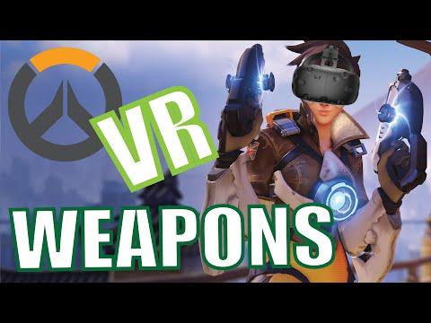 Overwatch VR - Armas en Realidad Virtual - HTC Vive