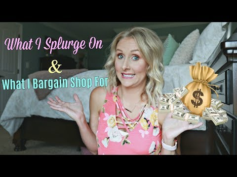 TALKING MONEY What I Invest Our Money In- What I Splurge On- How Much I Really Spend On Home Decor!