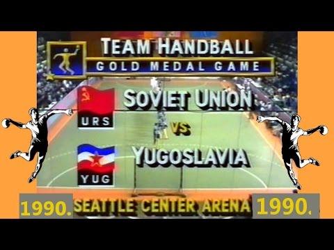 1990. гандбол Handball rukomet balonmano гандбол Seattle SSSR JUGOSLAVIJA IGRE DOBRE VOLJE
