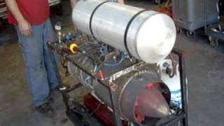 Jet Engine Start Up And Running, Great Video!