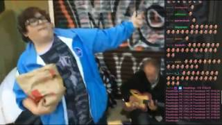 Ice Poseidon and Andy Milonakis Freestyle Rap at Venice Beach /w Chat