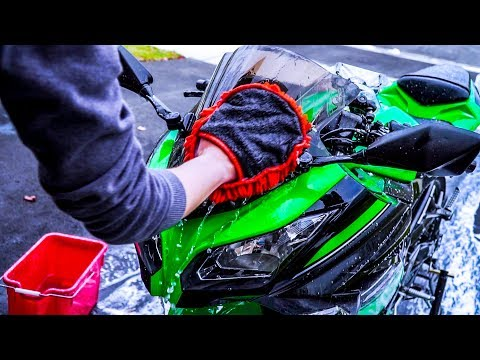 How to Wash Your Motorcycle/Motorbike