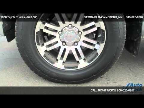 2008 Toyota Tundra Sr5 For Sale In Ruidoso Nm 88355