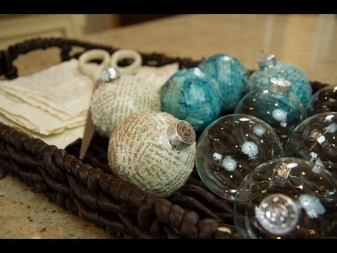 DIY Christmas Ornaments - Let's Craft with ModernMom - 12 Days of Christmas (Day 11)