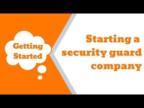 Video 1: Intro To How To Successfully Start A Security Guard Company