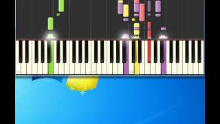 Bread   Everything I Own [Piano tutorial by Synthesia]