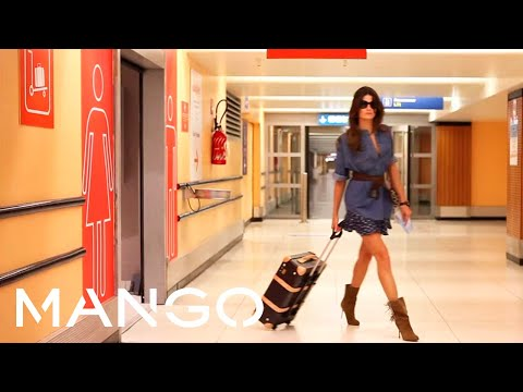 "MANGO Isabeli Fontana by Terry Richardson ""Boarding Pass"""