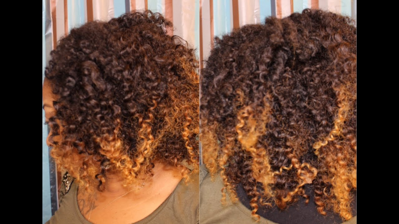 Easy Blending Styling Of Natural Hair Texture Clip In Extensions