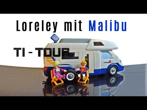 Loreleyblick mit Wohnmobil