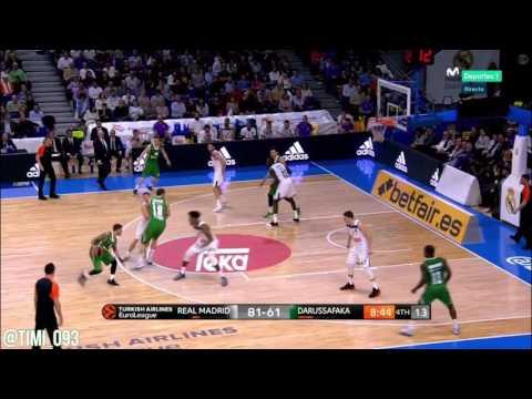 Ante Zizic Highlights vs Real Madrid (11 pts, 10 reb)