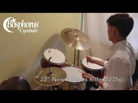 Jazz Ride Cymbal Comparison: Bosphorus Edition!
