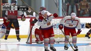 NHL 2K3 Canada vs Russia