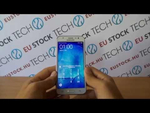 Samsung Galaxy J5 kezdeti lépések