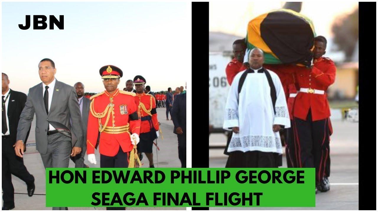 Edward SEAGA'S Fin@l Flight: Jamaica News Today/JBN
