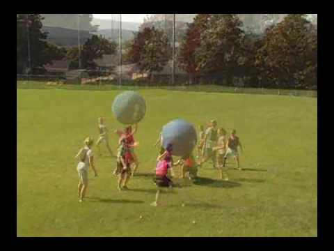 "Video: Omnikin® ""Outdoor"" Kin-Ball®"