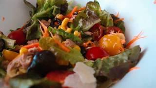 Итальянский салат с тунцом // пп рецепт
