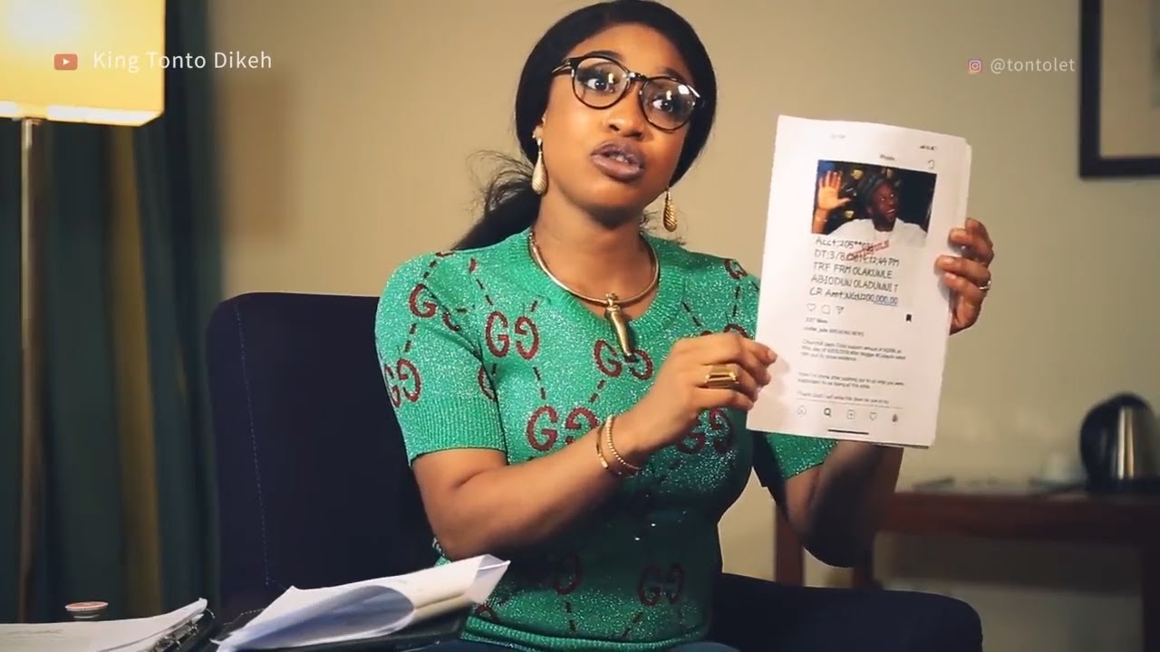 Image result for churchill tonto dikeh intears