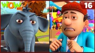 New Cartoon Show | Chacha Bhatija | Wow Kidz | Hindi Cartoons For Kids | Jaanwaron Ki Bhasha