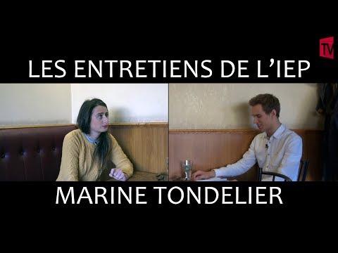 Entretiens de l'IEP #1 : Marine Tondelier, opposante au FN à Hénin Beaumont