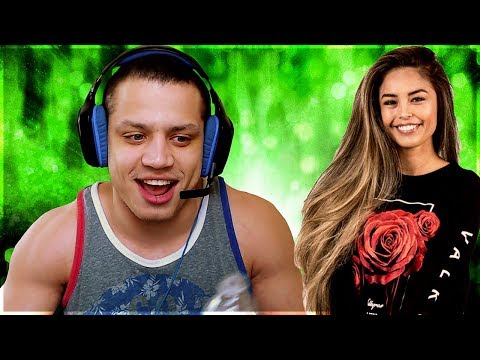When Tyler1 Begs for his Viewers Vs. Valkyrae | LL Stylish reacts to new Zed skin