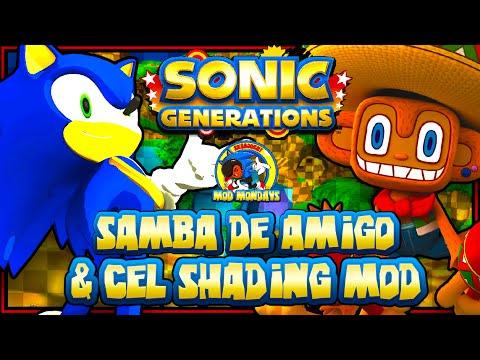 Sonic Generations PC - Samba De Amigo & Cel Shading Mod