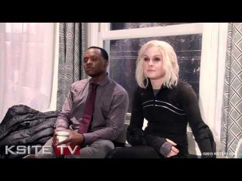 iZombie on Set: Malcolm Goodwin & Rose McIver Clive & Liv