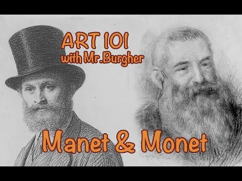 Art 101: Manet & Monet