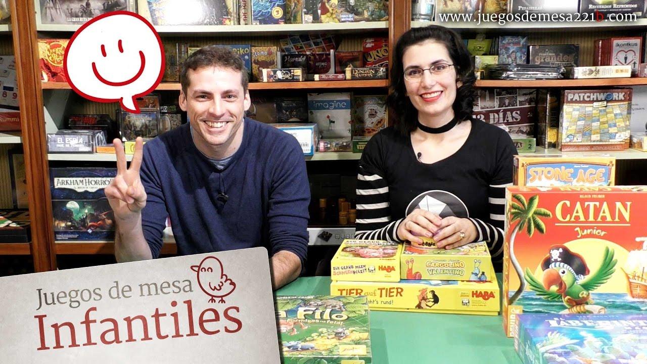 Juegos De Mesa Infantiles Youtube