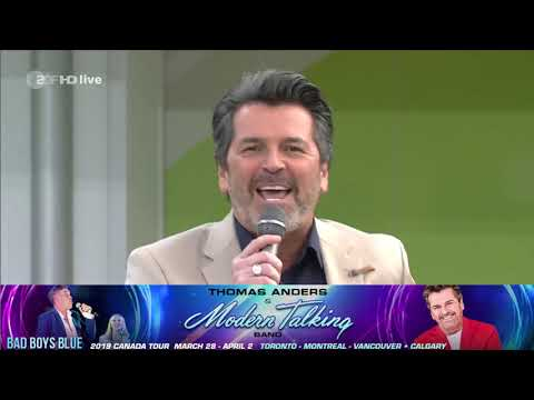 Thomas Anders 2019 Canada Tour With Bad Boys Blue - Promo 4