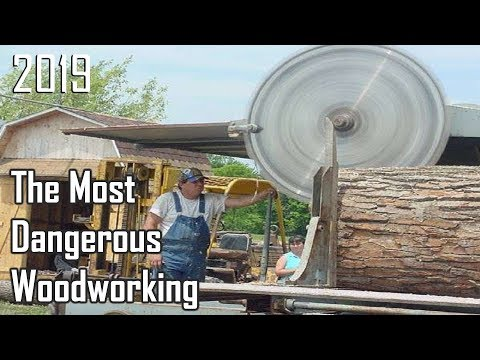 The Most Dangerous Woodworking Machines / Inventions of 2019