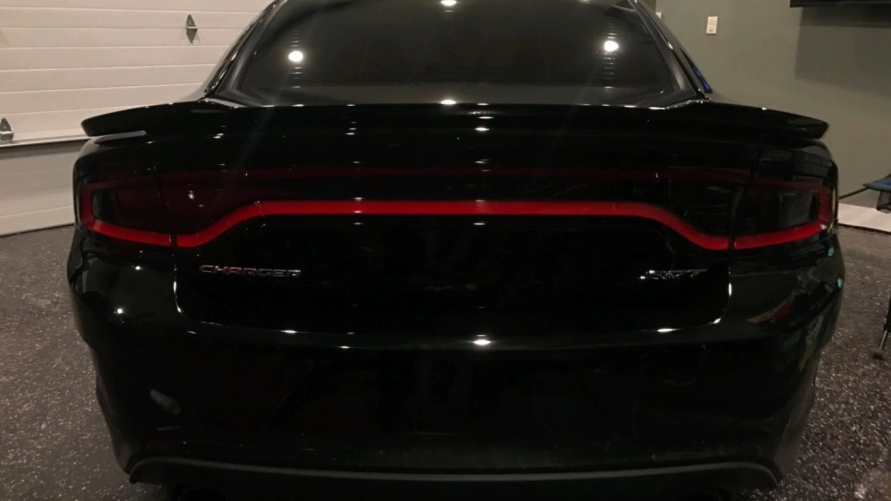 2015 Dodge Charger Luxe Taillight Amp Sidemarker Tint