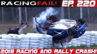 Racing and Rally Crash Compilation 2019 Week 220